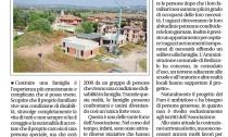 Articolo giornale di Brescia su casa famiglia